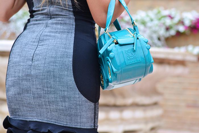 CarinaBag, Glam factory, Carina bag Braccialini borse, borsa macchinina Braccialini, fashion blogger italiane It-Girl by Eleonora Petrella, vestiti Guess dresses