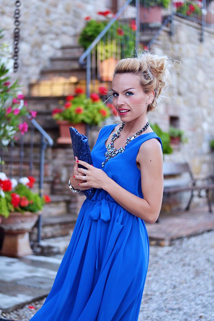 Relais Il Canalicchio resort centro benessere Umbria, luxury country house Umbria, long dress, maxi dress, vestiti lunghi estate 2014 - It-girl by Eleonora Petrella