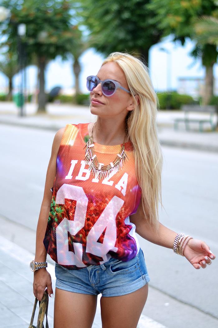 Roimer, canotte basket traforate, shorts jeans, zeppe estate 2014, scarpe Aldo, fashion blogger italiane It-Girl by Eleonora Petrella