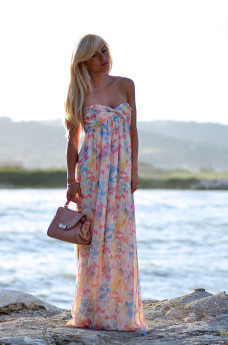 Kau Alba Adriatica, vestiti lunghi cerimonie Patrizia Pepe, maxi dress – outfit italian fashion blogger It-Girl by Eleonora Petrella