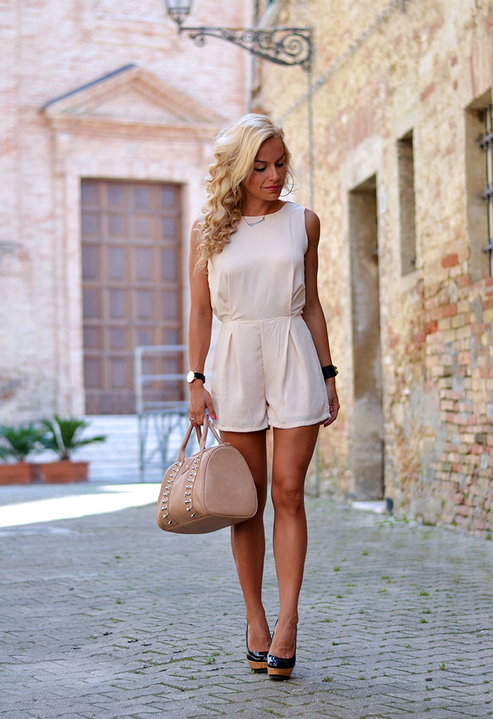 : Lookbook store shop online, lookbook store italia, jumpsuit trends summer 2014, tute estate 2014, lace dress, outfit Italian fashion blogger It-Girl by Eleonora Petrella