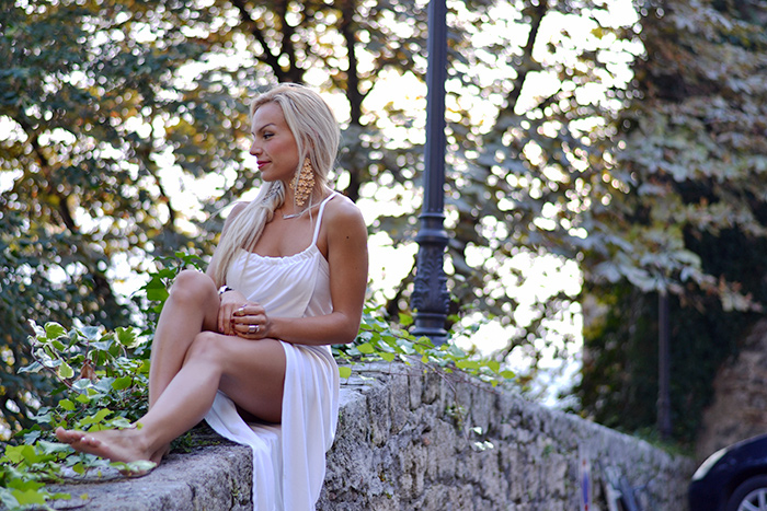 Lookbook Store fashion dresses, maxi dress, blondie italian girl - fashion blogger It-Girl by Eleonora Petrella