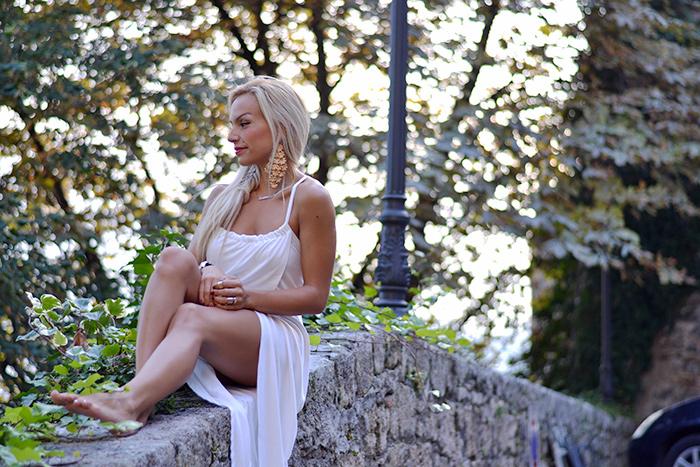 Lookbook Store fashion dresses, maxi dress, blondie italian girl - fashion blogger It-Girl by Eleonora Petrella