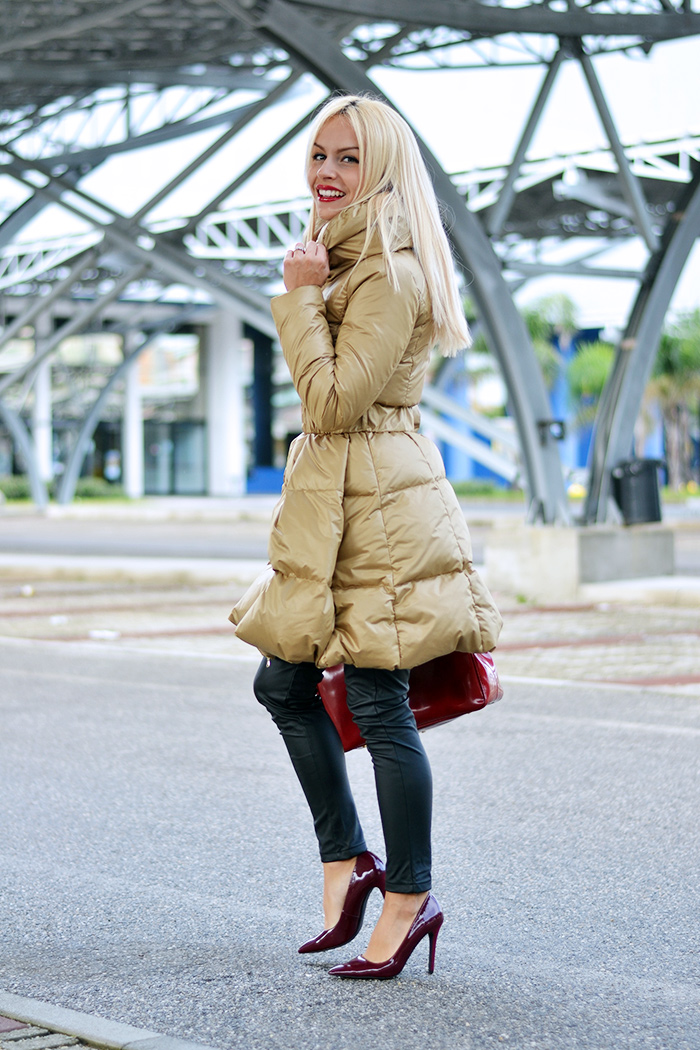 Ventifive abbigliamento, piumino lungo inverno 2014, long coat, Arcadia bags bolsas, outfit idea italian fashion blogger It-Girl by Eleonora Petrella