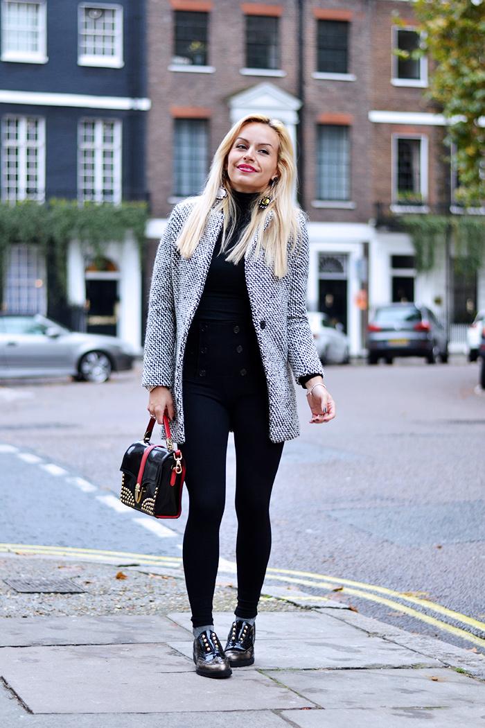 Cult shoes prezzi scarpe, Lebole gioielli, cappotto grigio inverno, Sheinside opinioni Italia - outfit italian fashion blogger It-Girl by Eleonora Petrella