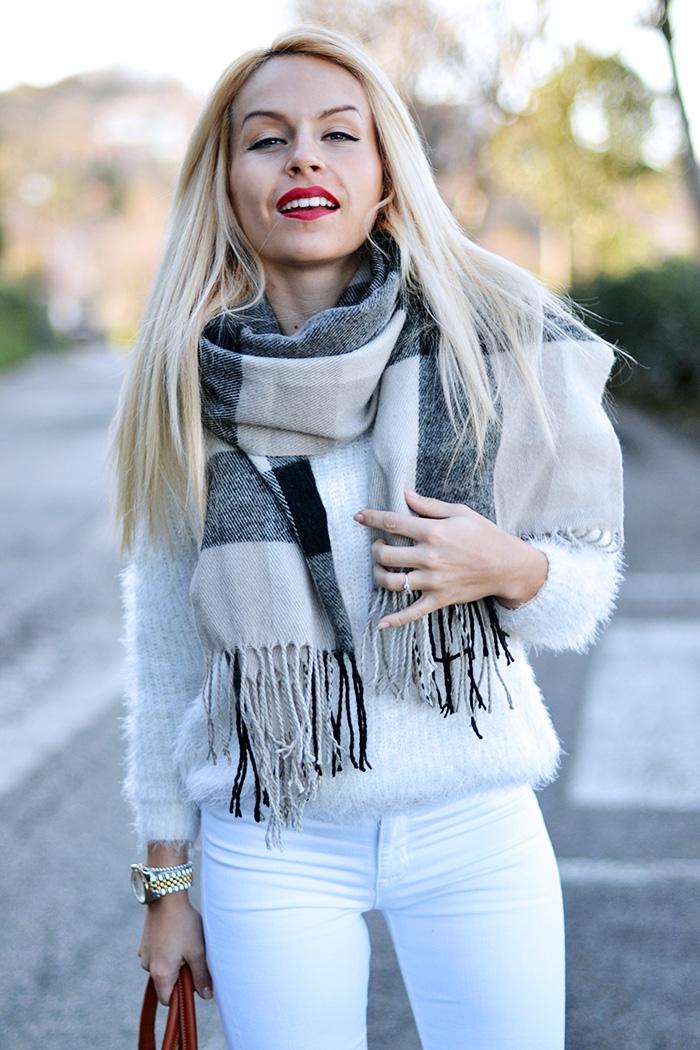 Loristella borse, faux fur sweater, Hudson jeans, jeans skinny, borse Made in italy, Loristella borse outlet – outfit fashion blogger It-Girl by Eleonora Petrella