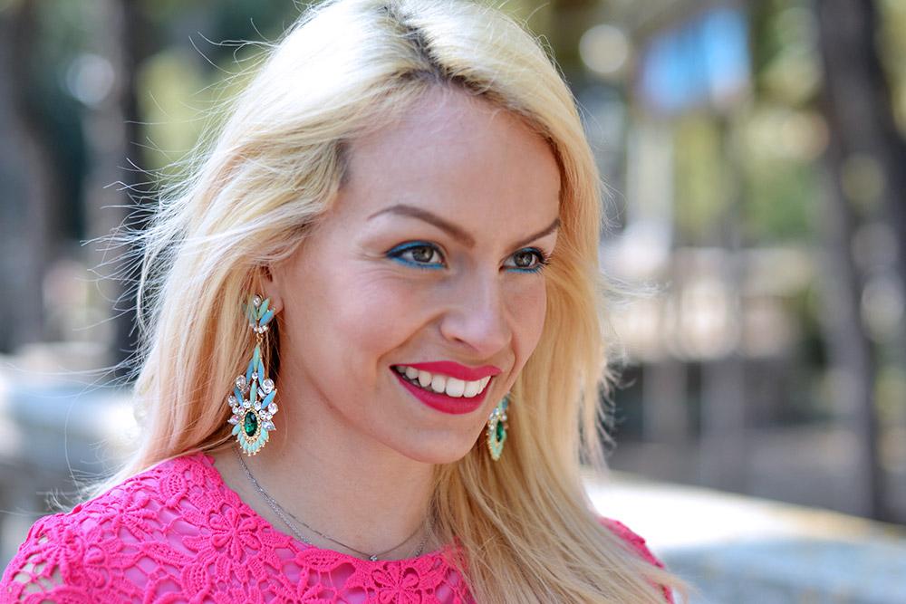 Loristella borse in pelle Made in Italy, Loristella primavera/estate 2015, vestiti rosa, come indossare il rosa, Chicwish Italia spedizioni - outfit fashion blogger Eleonora Petrella