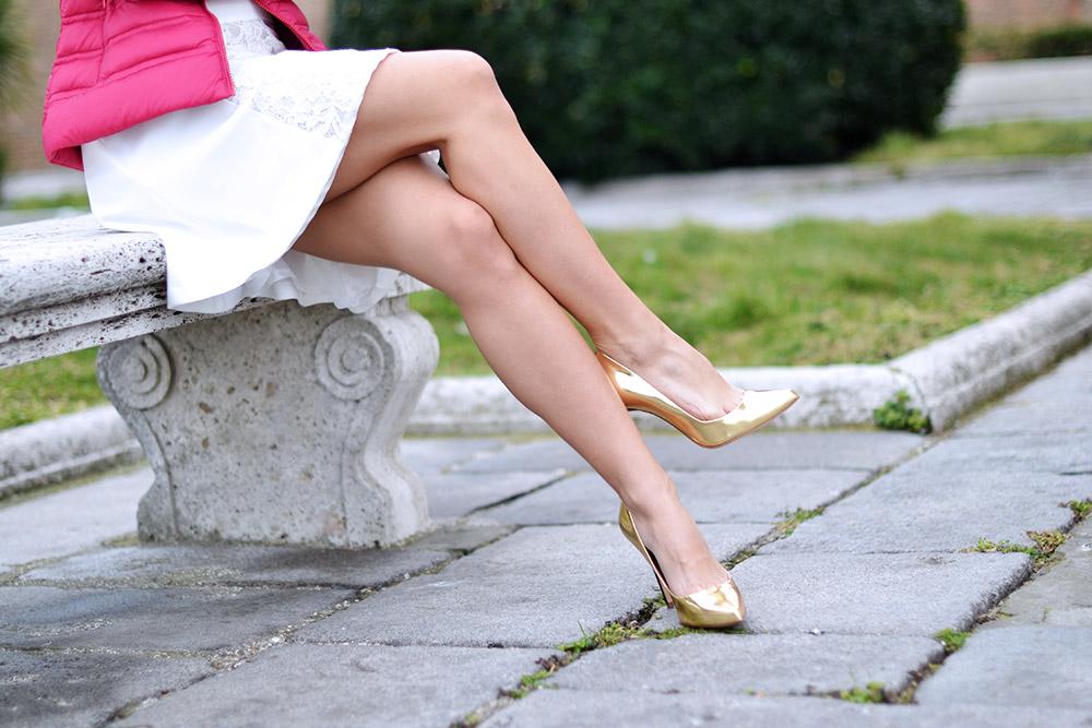 Tuwe italia abbigliamento shop online, Giorgia & Johns vestiti, Sergio Levantesi scarpe, come indossare un vestito bianco, abbinare abito bianco, tuum gioielli prezzi, tuum bracciali - outfit primavera 2015 fashion blogger It-Girl by Eleonora Petrella