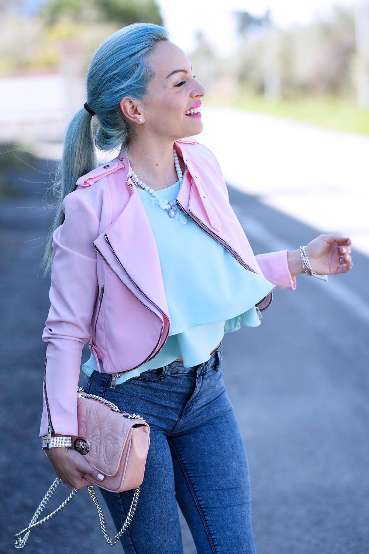 Zara pointer glitter ballet flats, glitter shoes, Bijoux brigitte gioielli, come vestirsi in primavera, outfit colorati per la primavera 2015, tendenze primavera/estate 2015 - fashion blogger It-Girl by Eleonora Petrella