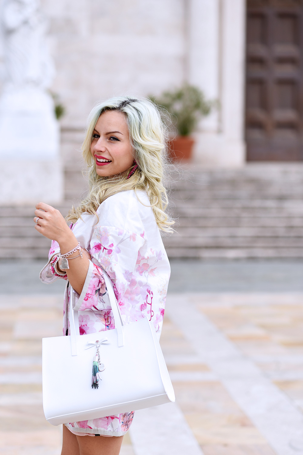 Loristella borse, borse in pelle primavera/estate 2015, Giorgia&Johns abbigliamento, come indossare il trench, spolverini per la primavera - idee look fashion blogger It-Girl by Eleonora Petrella
