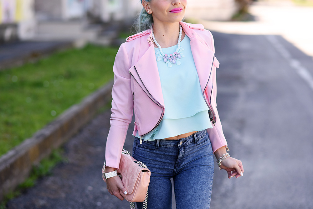 Zara pointer glitter ballet flats, glitter shoes, Bijoux brigitte gioielli, come vestirsi in primavera, outfit colorati per la primavera 2015, tendenze primavera/estate 2015 - fashion blogger It-Girl by Eleonora Petrella