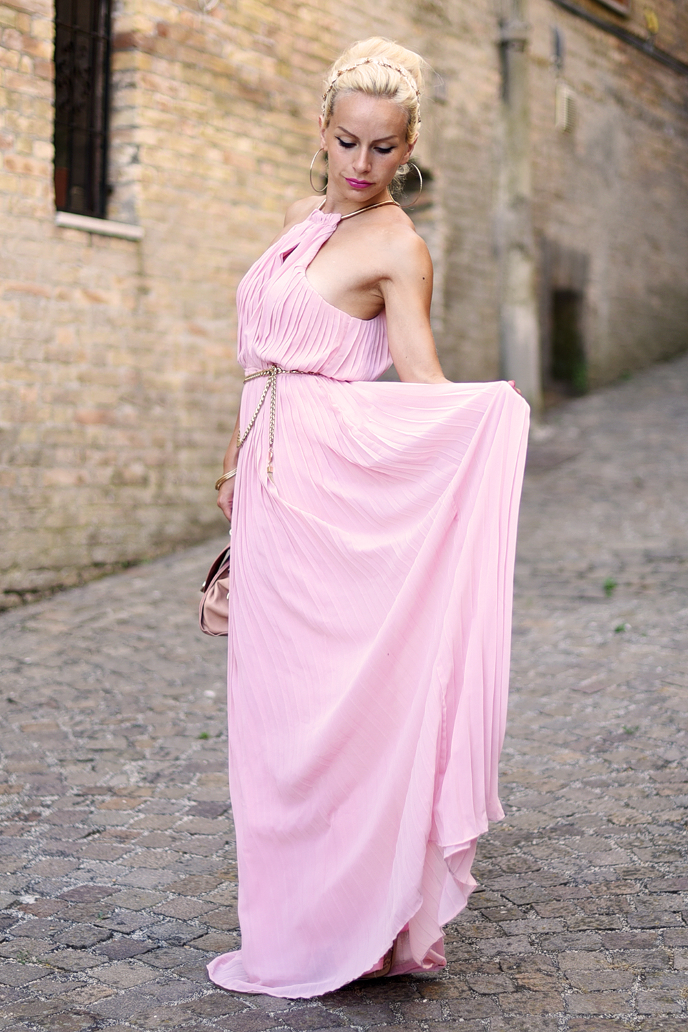 long dress, maxi dress, Shein Italia, opinioni recensioni Sheinside, Shein affidabile, MA Stone jewels, Swallow ring - outfit summer 2015 fashion blogger It-Girl by Eleonora Petrella