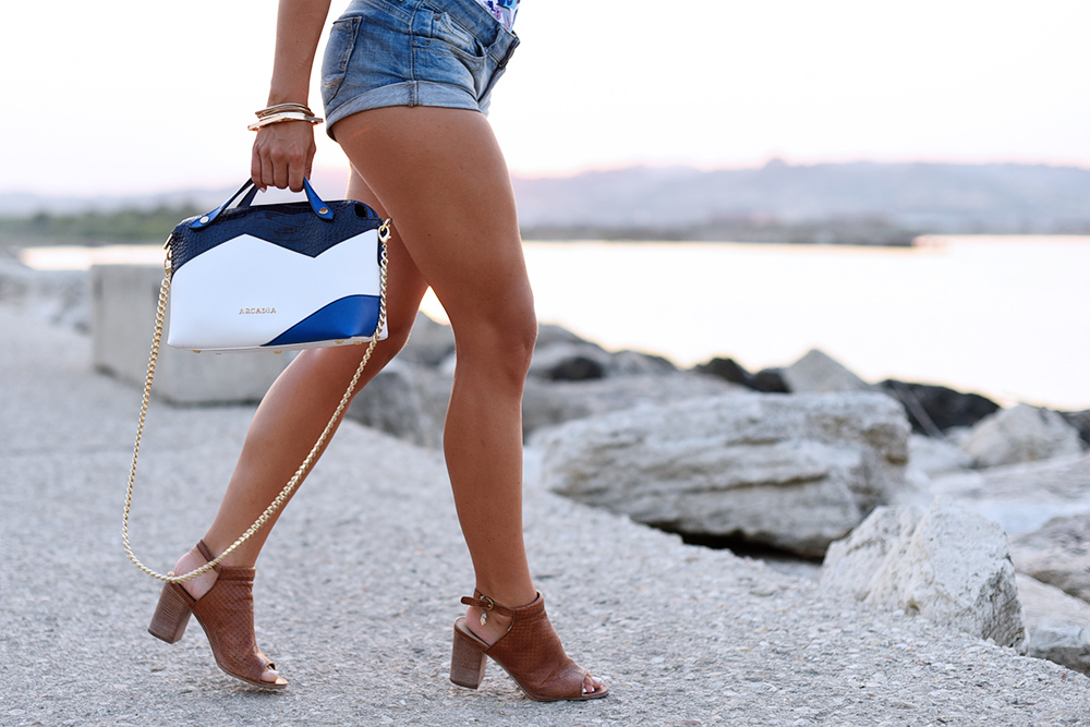 konghboon swimwear, costumi konghboon italia spedizioni, outfit shorts di jeans, scarpe U.S. polo - outfit summer 2015 fashion blogger It-girl by Eleonora Petrella