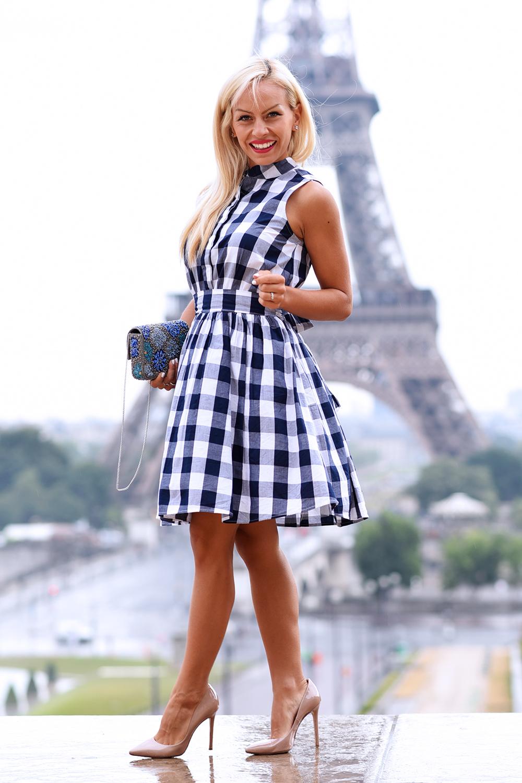 Tour Eiffel vista dal Trocadero, scattare foto davanti la Tour Eiffel, Tour Eiffel Parigi, outfit a Parigi, gioielli Ottaviani bijoux - fashion blogger It-Girl by Eleonora Petrella