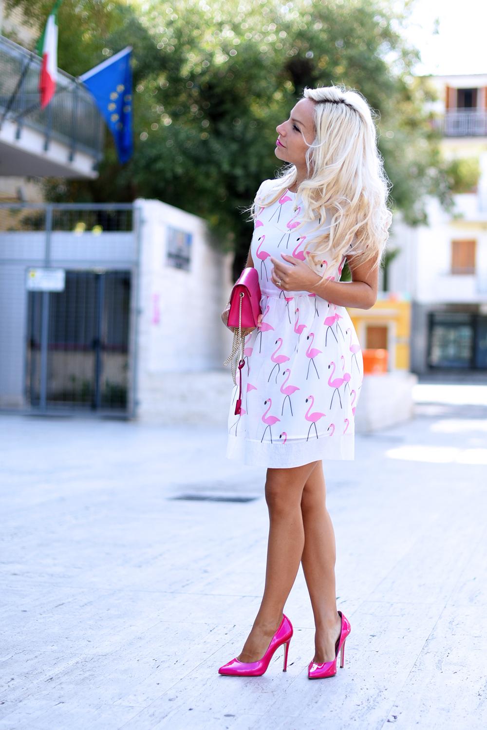 Choies dress, Choies, skater dress, metropolis Furla prezzo colori, dove trovare la Metropolis Furla - outfit fashion blogger It-Girl by Eleonora Petrella