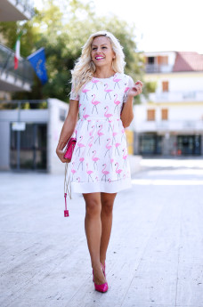 Choies dress, Choies, skater dress, metropolis Furla prezzo colori, dove trovare la Metropolis Furla - outfit fashion blogger It-Girl by Eleonora Petrella