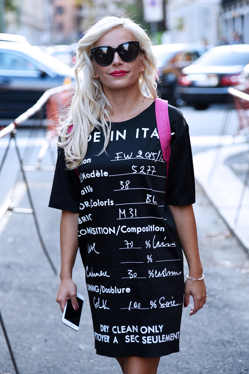 Moschino vestiti prezzo, Agnetti boutique, Moschino collezione autunno inverno 2015 2016, zaino Moschino, borse Moschino - outfit fall 2015 fashion blogger It-Girl by Eleonora Petrella