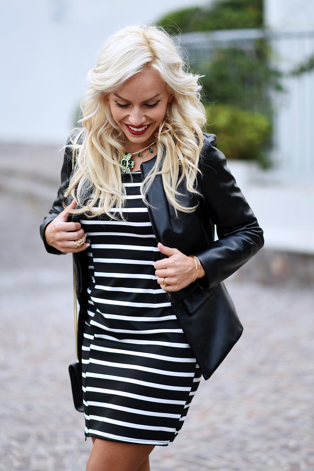 Striped dress, vestiti a righe, Choies spedizioni Italia, Choies dogana, Mercuri Luxury gioielli, Mercuri Moda luxury bijoux – outfit fashion blogger It-Girl by Eleonora Petrella