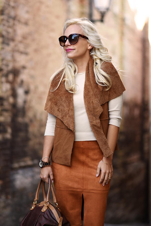 Suede fashion trends fall/winter 2015-2016, tendenza camoscio A/I 2015-2016 - It-Girl by Eleonora Petrella