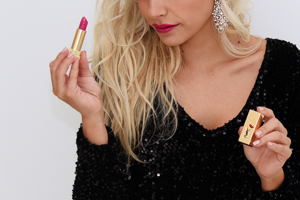 Yves Saint Laurent Beauté Kiss & Love lipsticks, Rouge Pur Couture rossetti - It-Girl by Eleonora Petrella