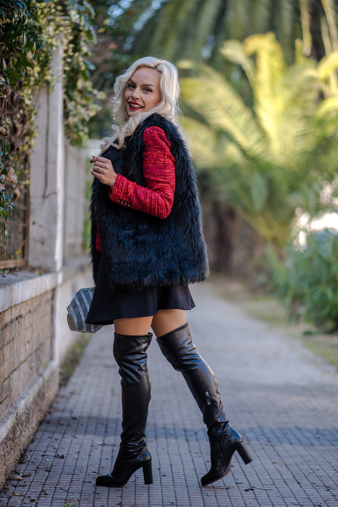 How to style over the knee boots!