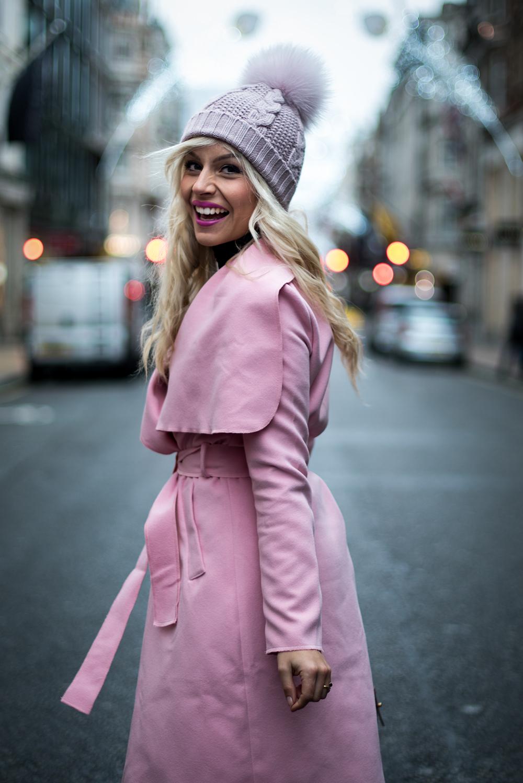 Cappotto rosa quarzo Pantone 2016 - It-Girl by Eleonora Petrella