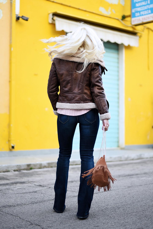 giacca in montone - It-Girl by Eleonora Petrella