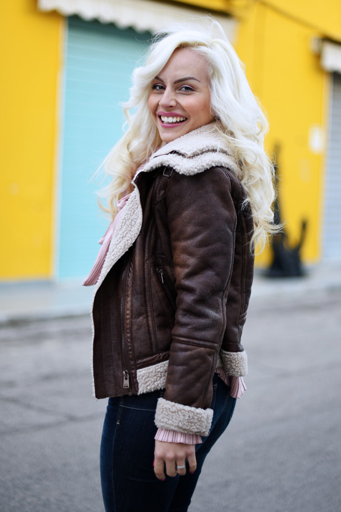 About shearling jackets…