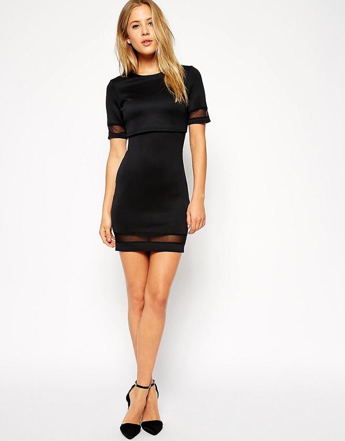 2---vestito-nero-corto-con-tacchi