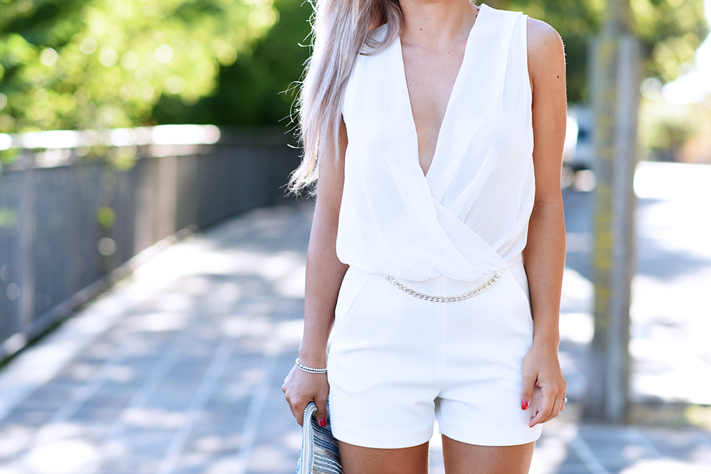 look total white tuta Ventifive 01