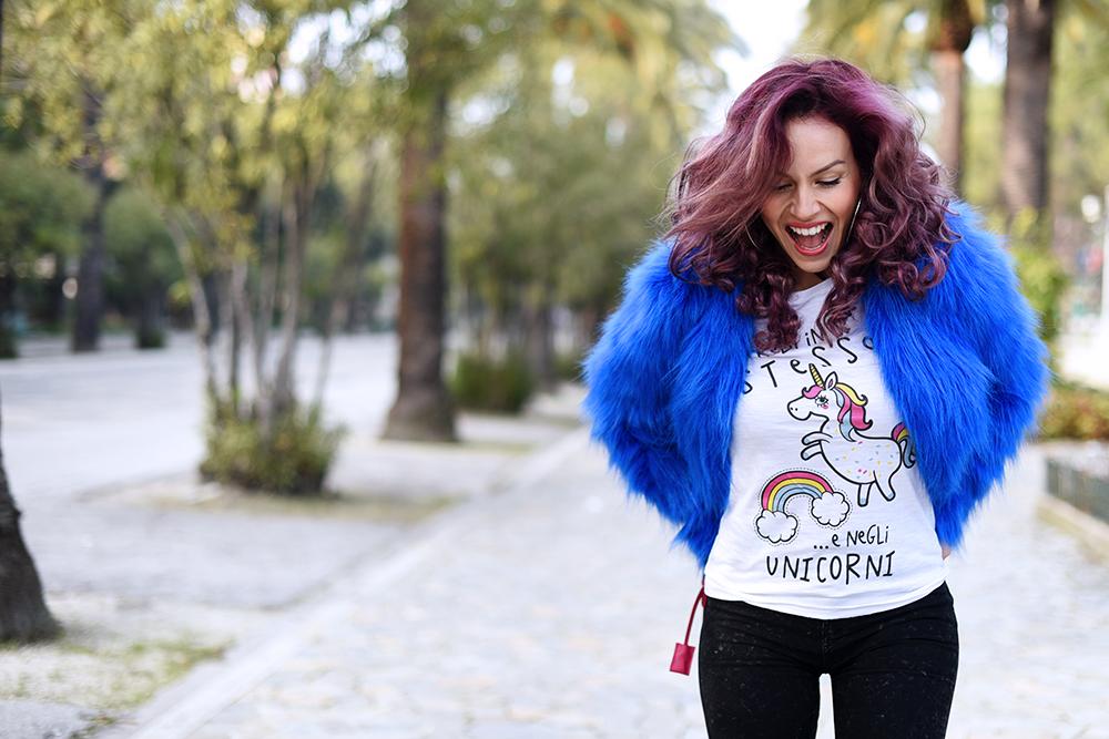 IRONIC! HAPPINESS IN MY SHIRT: Credi in te stesso… e negli unicorni!