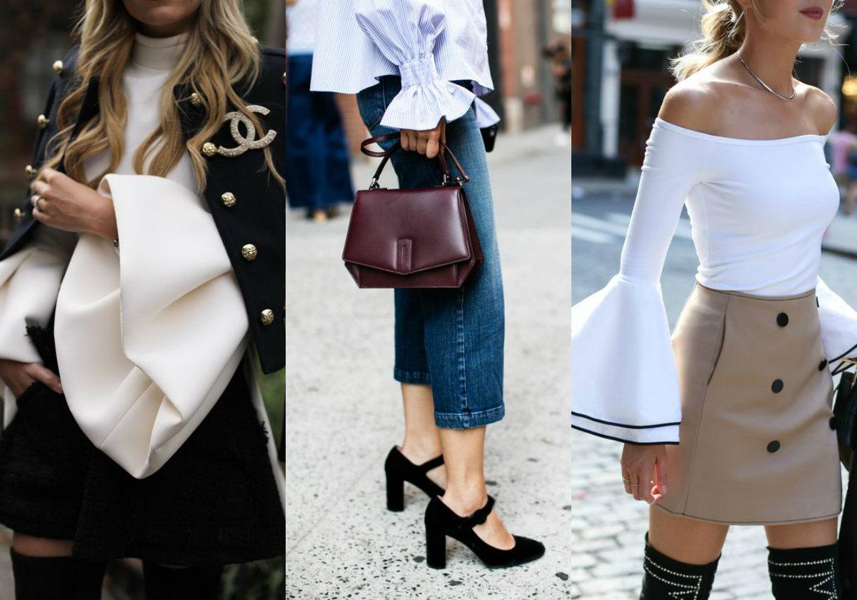 camicie con le maxi maniche tendenze primavera estate 2017