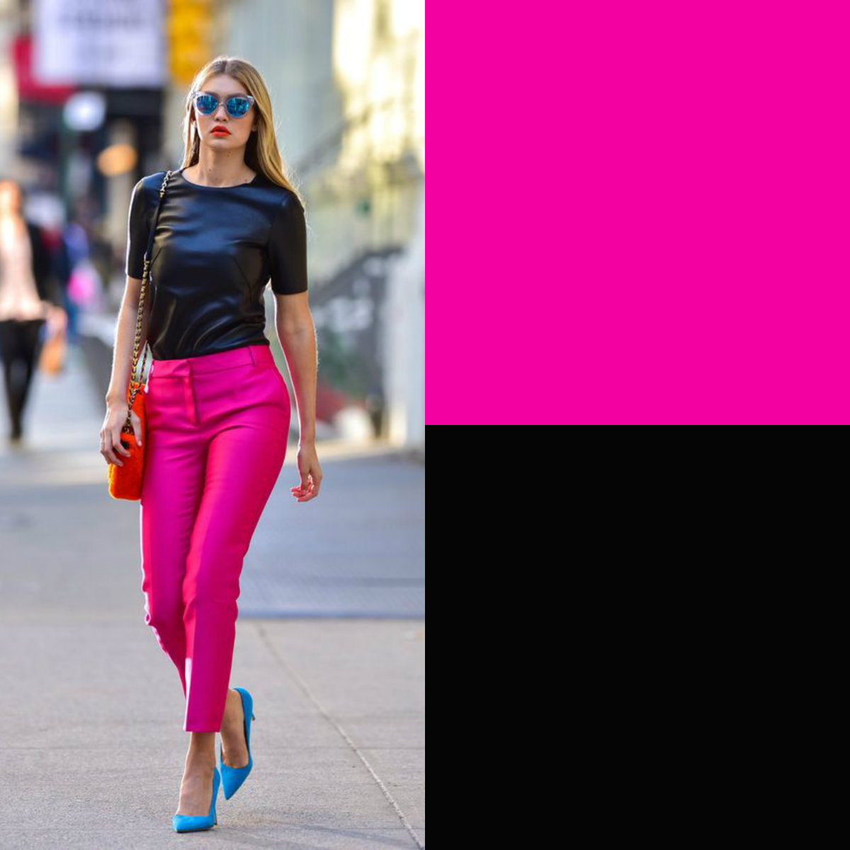 ccd78e298d75 I colori pastello vanno benissimo con il nero ma per una combinazione più  glamour è preferibile