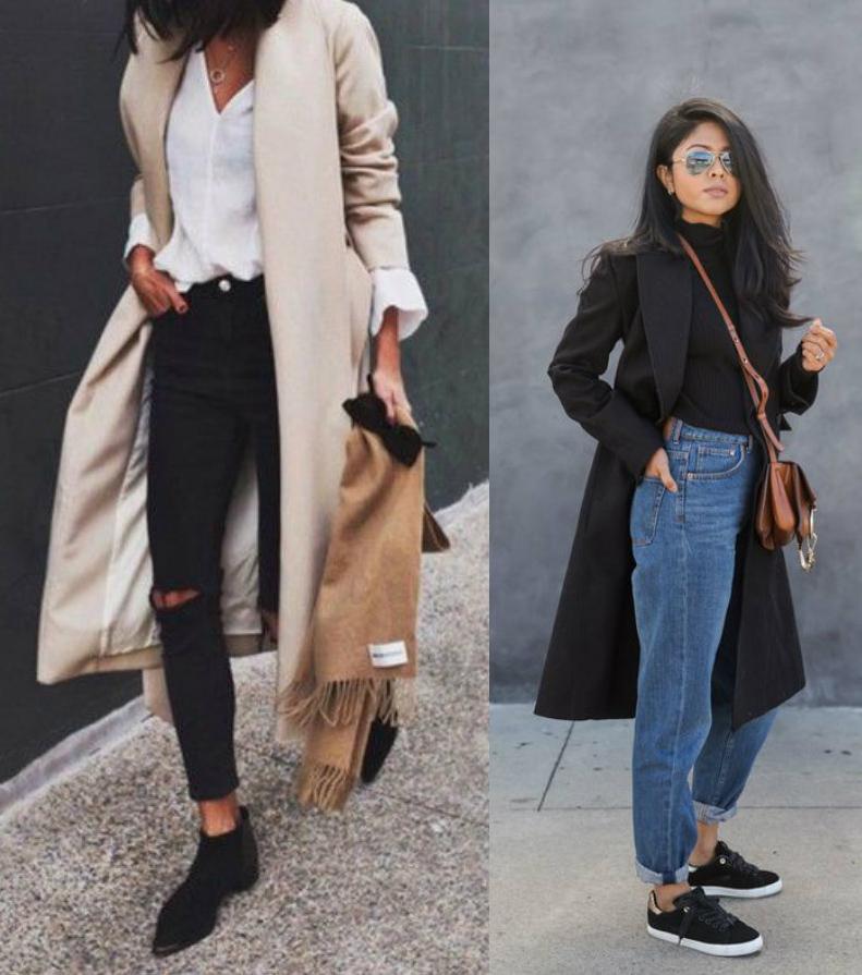 Non c\u0027è tendenza che tenga! Con un blazer blu, un cappotto nero o un trench  beige non si sbaglia mai! Evergreen, classici e sempre perfetti,